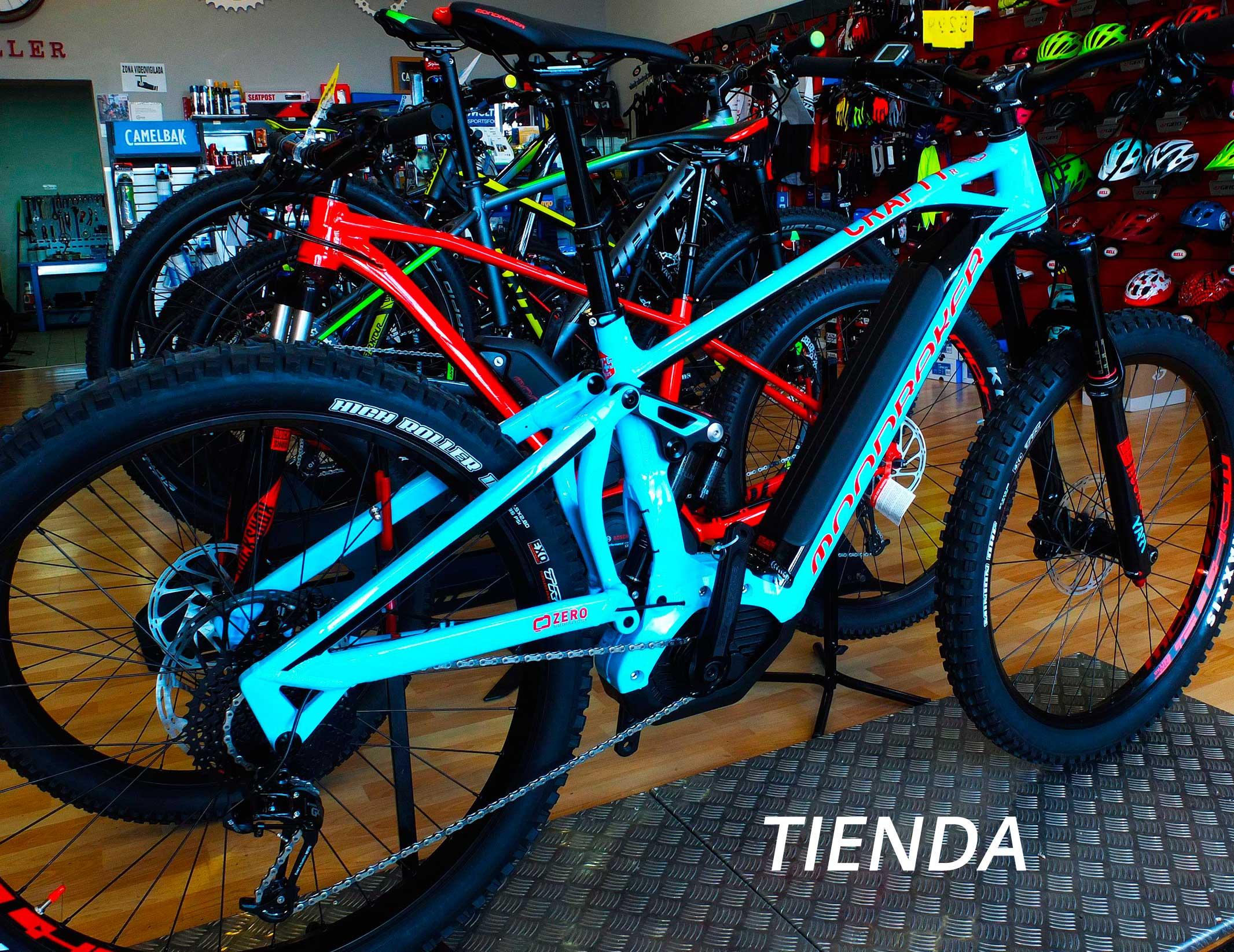 tienda de bicicletas en villanueva de la cañada madrid